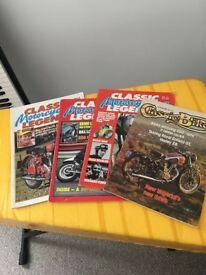 Classic Motorcycle Magazines 1980's