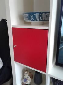 Ikea cube inserts with doors x2