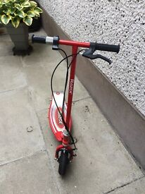 Red Razor E100 Electric Scooter