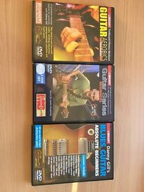 Guitar Tuition DVD's by Lick Library
