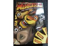 Madagascar The Complete Collection 3 DVD box set