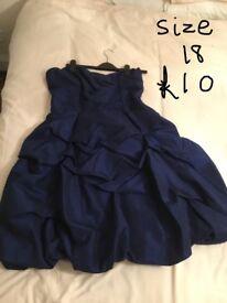 Excellent condtion size 18 dressess