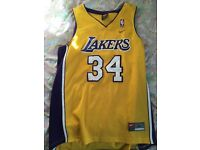 NBA jersey lakers tg L