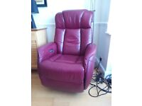 Electric reclining arm chairs