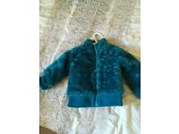 Baby furry jacket