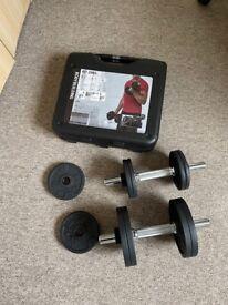 20kg Dumbbell kit - £65
