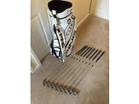 PING Golf clubs and Golf Bag