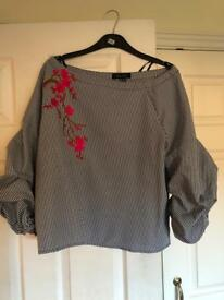 New look blouse size 14