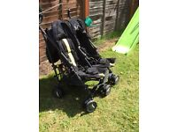 Mamas and papas double buggy
