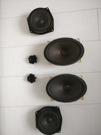 BMW mini cooper R50 Full set of Stock Speakers