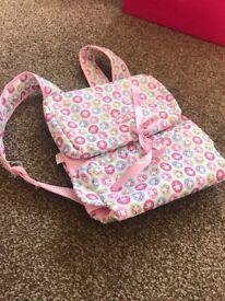 Baby Annabell change bag rucksack
