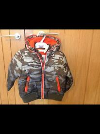Boys Khaki Jacket New With Tags