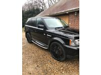 Range Rover sport 3.6 with up grade kit