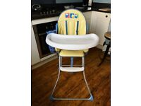 Babies R Us High Chair. Used, but sound condition.