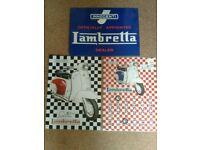Lambretta tin signs