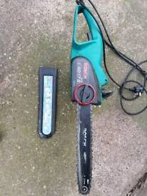 Electric chainsaw bosch