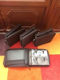 CD/DVD Zipped Storage with Carry Handles