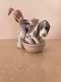 Lladro figurines x 3
