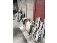 FREE Bricks, flagstones & coping stones