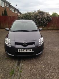 GREAT BUY TOYOTA AURIS GREY 1.6tvr TWO FORMER KEEPERS TWO KEYS