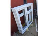 2 brand new double glazed window