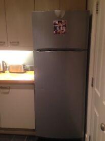 Large Silver Indecit Fridge freezer