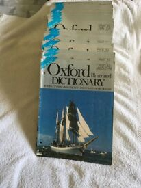 New Oxford Illustrated Dictionary - Complete 2 volumes