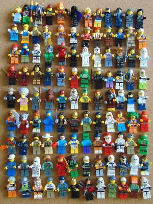Lego Minifigures 10 x Random Lego Mini figures + Accessories StarWars etc Bundle