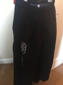 Boys Canterbury Jogging bottoms