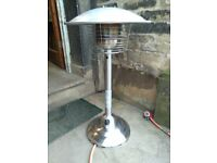 Patio heater table top