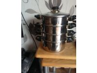 4 tier pan steamer