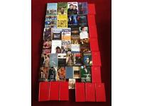 Box of over 70 books adults mixed resale carboot