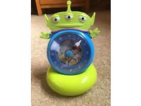 Toy story time trainer clock