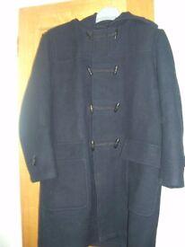 G Star Raw Black Monty Duffle Coat Large 70% wool 30% polymaid RN104506