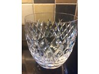 Tyrone and Waterford crystal glasses