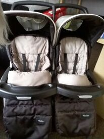 double pushchair aire twin +