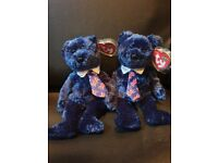 TY Beanie Babies bears Selection £5 each bear or offers for a bundle
