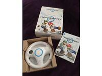 MarioKart Wii with Steering Wheel