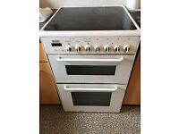 WHITE ELECTRIC COOKER - INDESIT