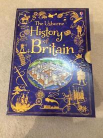 The Usborne history of Britain box set