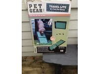 NEW BIFOLD PET RAMP PET GEAR TRAVEL LITE FOR THE CAR