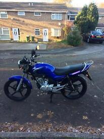 Yamaha ybr125 low mileage