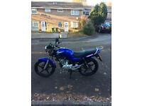Yamaha ybr125 low mileage