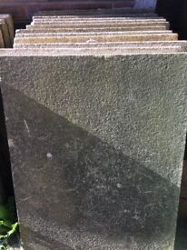 24 Solid concrete flagstones - Free to good home