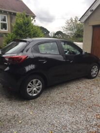 Mazda 2 for sale. 1 year old, 9,500 miles