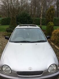 1.4 petrol engine,, 1999 cheap we runner round for 250 Sterling Contact 07874036302