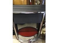 Electric free standing heater