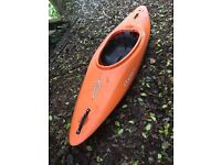 Daggar Infrared Playboat Kayak with paddles, spraydeck, roof rack uprights, buoyancy aid