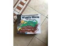 Wiggly worm world BRAND NEW IN BOX