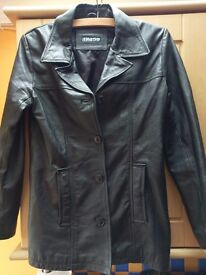 Womens jacket 100% leather